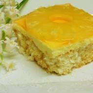 Ciasto kokosowo- ananasowe