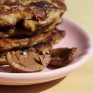 czekoladowo bananowe placuszki owsiane