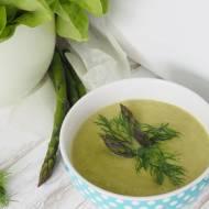 Zupa krem z zielonymi szparagami