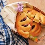 Grzebienie z serem i powidłami