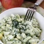 Surówka z ogórkiem i brokułem