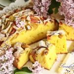 Ucierane ciasto z rabarbarem (na krupczatce)