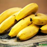 Smoothie z banana i mango.