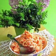 Surówka z jabłka i marchewki do obiadu