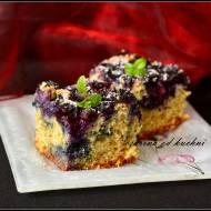 Ciasto z owocami na mące graham
