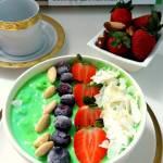 Green healthy bowl