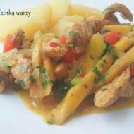 Curry z kurczaka i mango z pomarańczową nutką