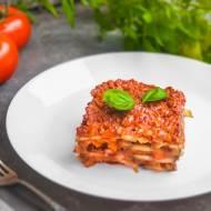 Dietetyczna lasagne z cukinii