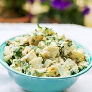 Sałatka ziemniaczana z jajkiem i kaparami
