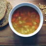 Wegańska zupa grochowa