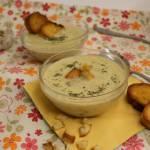 Zupa serowa z mielonym