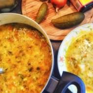 Błyskawiczna zupa ogórkowa