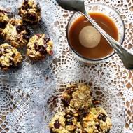 Ciasteczka owsiane z pestkami dyni bez mąki