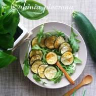 Cukinia pieczona w ziołach