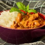 Curry z ryżem jaśminowym