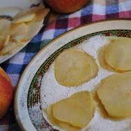 Delikatnie imbirowe naleśniki z jabłkiem
