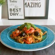 Krewetki z pesto – obiad idealny