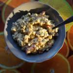 Sałatka z tuńczykiem i mieszankami warzywnymi