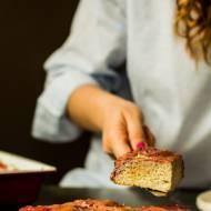 Ciasto z rabarbarem (bez glutenu, cukru, paleo)