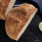 Chleb pszenno-owsiany z jabłkiem
