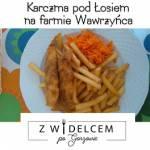 Karczma pod Łosiem na farmie Wawrzyńca - lokal w Wawrowie