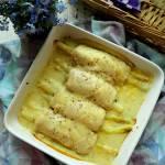 Roladki z kurczaka z serem i szparagami