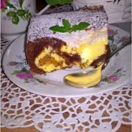 Ciasto czekoladowo serowe z figą z makiem