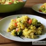 Danie jednogarnkowe z kurczakiem i brokułami