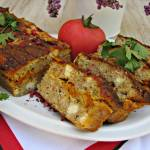 Pieczeń z pastą warzywną (na kanapki, do obiadu)
