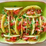 Tacos z limonkowo-miodowym kurczakiem