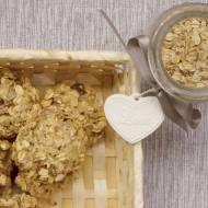 Ciasteczkowe love owsiano – bananowe. Przemycamy siemię lniane i jajko niemowlakowi.