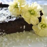 czekoladowe jaglane brownie i brak koncepcji żeby go sobie odmówić