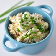 Pasta z makreli wędzonej z jajkami