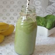 Śniadaniowe zielone smoothie
