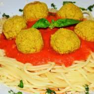 Spaghetti z pulpetami z soczewicy (wegańskie)