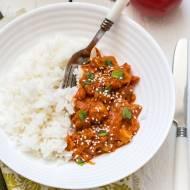 Szybkie curry z cukinii