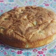 Złociste ciasto z ricottą i rabarbarem