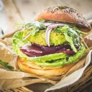 Burgery z zielonego groszku