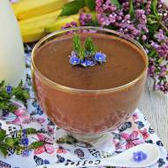 Jaglany budyń czekoladowy