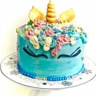 Najmodniejszy tort urodzinowy - unicorn