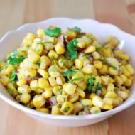 Salsa z kukurydzy z cebulą, jalapeno i kolendrą