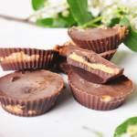 Fit Reese's - czekoladki z masłem orzechowym   dietetyczny deser  