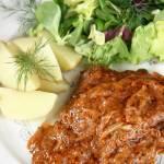 Karkówka w sosie z miodem i białym pieprzem