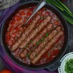 Kiełbaski w sosie paprykowym, czyli obiad w 15 minut