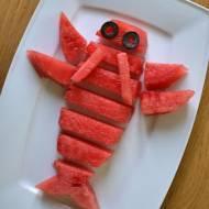 Owocowa przekąska dla dzieci - Rak z arbuza 🍉