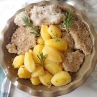 Pieczone ziemniaki w aromatycznej soli (Patate in crosta di sale)