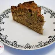 Ciasto z rabarbarem i maślanką