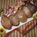 Racuchy cynamonowe z jabłkiem na proszku do pieczenia