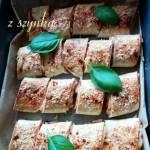 Tortille serowe z szynką