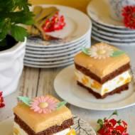 Ciasto brzoskwiniowe z toffi